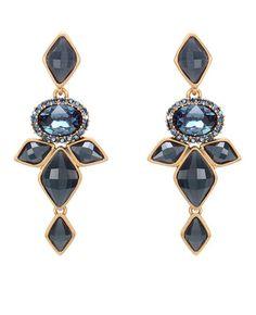 Earrings by Oscar de la Renta