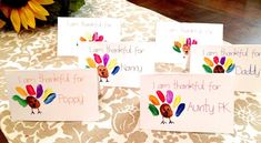 31 Awesome Thanksgiving Place Card Ideas - Press Print Party!