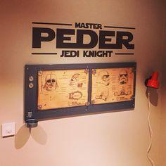 Peder sitt starwars rom Jedi Knight, Starwars, Home Decor, Decoration Home, Room Decor, Star Wars, Interior Design, Home Interiors, Interior Decorating