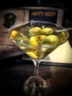 Filthy dirty belvedere martini, extra olives. Would be even better if the olives were stuffed with bleu cheese!