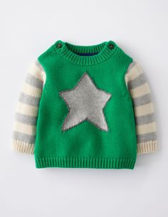Logo Sweater 71322 Boys at Boden
