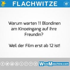 The funniest top 10 flat jokes - Flat jokes – 11 silly blondes in the cinema - Wise Quotes, Funny Quotes, Funny Memes, Funniest Jokes, Remember Quotes, 9gag Funny, Good Humor, Try Not To Laugh, Top Funny