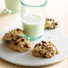 Take oatmeal cookies to a whole new level by adding chocolate chips and creamy peanut butter. These chewy, sweet treats won't last long...