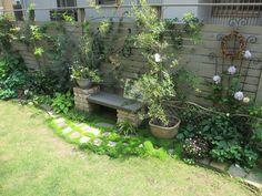 Pergola For Car Parking Garden Cafe, Garden Junk, Garden Yard Ideas, Garden Paths, Pergola Patio, Backyard Landscaping, Patio Seating, Small Backyard Design, Garden Design