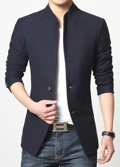 Look Stylish and fashionable with this Men's Casual Blazer. - Look Stylish and fashionable with this Men's Casual Blazer. Look Stylish and fashionable with this Men's Casual Blazer. Casual Blazer, Blazers For Men Casual, Men Blazer, Casual Jackets, Men Casual Styles, Hijab Casual, Suit Jackets, Casual Chic, Coat Dress
