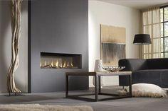 slimline fireplace