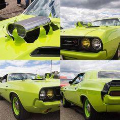 This Challenger is bursting with horsepower. - photo from dodgeofficial #FieldsCJDR #Florida #Chrysler #Jeep #Dodge #Ram #Sanford #FieldsCJD