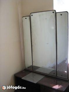 Retro tükrös szekrény Nagyszénáson eladó Retro, Retro Illustration