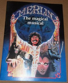 Merlin Broadway Musical Souvenir Program 1983 by TitanicVintage