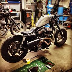 my Forty Eight Bobber Motorcycle, Cool Motorcycles, Bobber Chopper, Vintage Motorcycles, Custom Harleys, Custom Bobber, Custom Bikes, Harley Davidson 48, Harley Davidson Motorcycles
