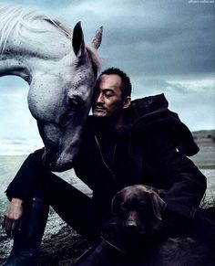 Another beautiful man! Mr Watanabe, I'm a big fan... Photo by Anne Leibovitz