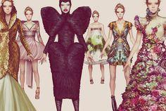 This makes us REALLY love Illustrated Fashion    Ignasi Monreal's Fashion Illustrations