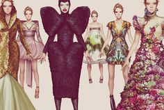 Ignasi Monreal's Fashion Illustrations