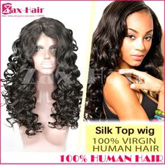 118.63$  Buy now - http://ali3kv.worldwells.pw/go.php?t=32364788948 - Unprocessed Human Hair Full Lace Wigs 7A 4x4 Silk Top Wavy Full Lace Human Hair Wigs Virgin Baby Hair Human Hair Lace Front Wigs 118.63$