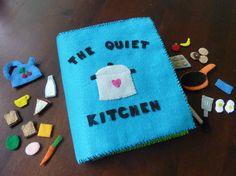 quiet kitchen activity book