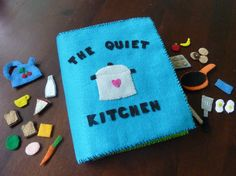 quiet kitchen activity book