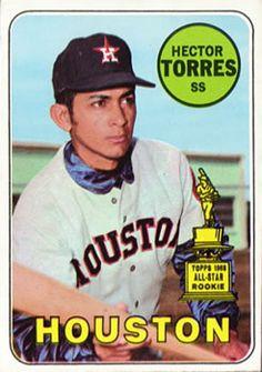 1969 Topps #526 Hector Torres Front