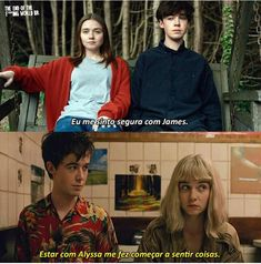 Esses dois <3. Movies Showing, Movies And Tv Shows, James And Alyssa, Ing Words, Its Gonna Be Okay, Jessica Barden, Its Okay Quotes, Balor Club, The End