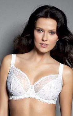 Freya Pollyanna 5922 Underwired Balcony Bra - White - Various Sizes