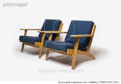 GE-290 Armchair, Danish, 1960s, manufactured by Getama. Designer: Hans J Wegner