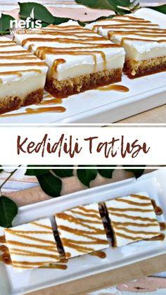 Kedidili Tatlısı (Videolu) - Nefis Yemek Tarifleri Tatlı Tarifleri How to make a cat dessert (with v Dessert Simple, Good Food, Yummy Food, Delicious Recipes, Extravagant Wedding Cakes, Cake Recipes, Dessert Recipes, Wie Macht Man, Sweets