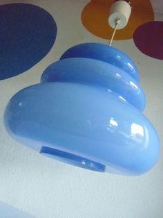 70er Glas Lampe   -  Peill und Putzler Design von susduett auf DaWanda.com