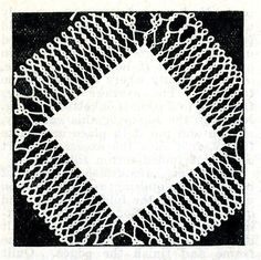 4711 Vintage Tatting PATTERN for Tatted Coaster by BlondiesSpot, $1.99