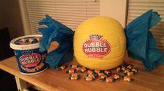 Dubble bubble pumpkin Holidays Halloween, Halloween Diy, Halloween Decorations, Halloween Witches, Halloween Quotes, Halloween Snacks, Halloween Projects, Halloween 2019, Fall Decorations