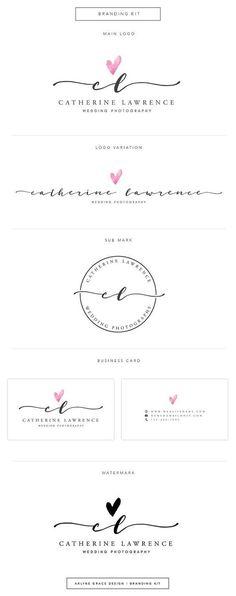 Premade Logo Logo Design Business Logo door ArlyneGraceDesign #photographylogos,