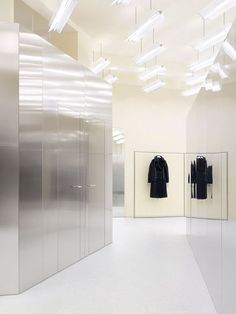 Acne studios - store - potsdamer straße, berlin shop ready to wear, accessories, shoes and denim for men and women Shop Interior Design, Retail Design, Store Design, Acne Studios, Store Concept, Desktop, Retail Interior, Cafe Interior, Retail Shop
