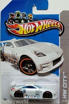 Nissan 350Z Hot Wheels 2013 HW City #28/250 White