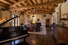 A great space for entertaining |  AZ Italian Villa Estate-Luxury Custom Home Portfolio  | Scottsdale Arizona Custom Home Builder | Green Home Builder AZ | Desert Star Construction | http://desertstarconstruction.com/