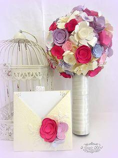 MagicArt / Keď sa kvety usmievajú... Paper Flowers, Bouquet, Vase, Decor, Decoration, Decorating, Bouquets, Flower Vases, Dekorasyon