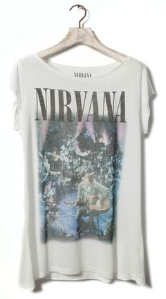 Nirvana tee - Pull & Bear.  I may have just bought this t-shirt.
