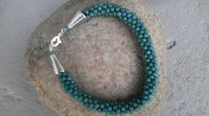 """These pictures are samples of what you can order, I make """"made to order"""" bracelets to suit you colour and size selection. All are hand made with high quality Czech beads. Beaded Necklace, Beaded Bracelets, Turquoise Bracelet, Suit, Beads, Craft, How To Make, Handmade, Color"""