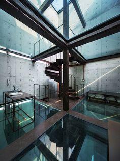 Vertical Glass House,Cortesia de Atelier FCJZ