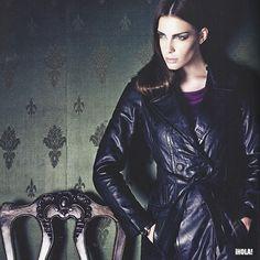 Nada mejor que un abrigo de cuero !  #otoño #invierno #2013 #Dagorret #carteras #chaquetas #cuero #moda #zapatos #botas #botines