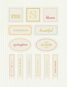 spring printables by whatever dee-dee wants