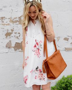 Pretty in pink print, @styledbykelsey. Your Stitch Fix dress is the perfect warm-weather staple. #regram