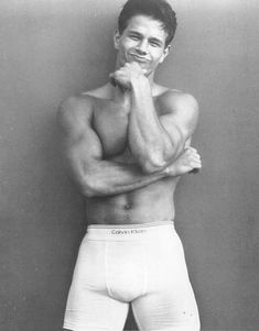 Not that we really needed an excuse to look at these hot celebs in their unmentionables, but this week marks the anniversary of Mark Wahlberg's iconic strip-down for Calvin Klein so we had an extra-good reason Kate Moss, Charlize Theron, Robert Pattinson, Justin Bieber, Mark Wahlberg Calvin Klein, Beautiful Men, Beautiful People, Naturally Beautiful, Hello Gorgeous