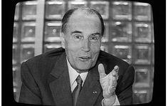 François Mitterrand à la télévision