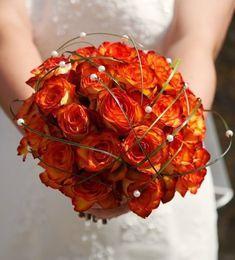fall wedding flower pics