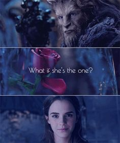 What if she's the one? #BeautyAndTheBeast