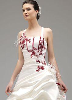 bordeaux gown robe de - Morelle Mariage