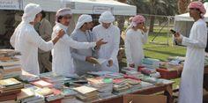 افتتاح مهرجان الكتاب المستعمل في الشارقة