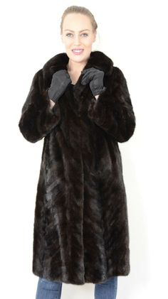 US2111 WOMEN FARMER MINK FUR COAT JACKET SIZE XL - NERZMANTEL cappotto di visone #Handmade #FurCoat Mink Jacket, Jackets, Down Jackets, Jacket