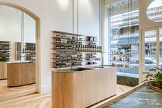 Aesop store by Genesin Studio, Adelaide – Australia | Blonde Tasmanian Oak | Retail Design Blog