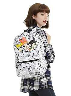 The Powerpuff Girls Trio Backpack,