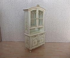 Details about  SALE Dollhouse Miniature Furniture Hand Painted Wildflower Dining Room New