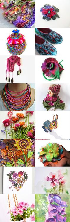 SPRING IN ALL ITS GLORY by tornpaperco on Etsy--Pinned with TreasuryPin.com